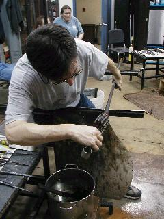 Glassblowing with Fused Cane 20