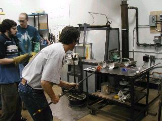 Glassblowing with Fused Cane 25