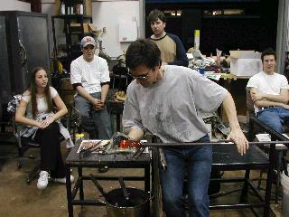 Glassblowing with Fused Cane 29
