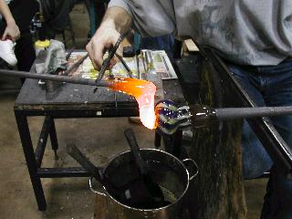 Glassblowing with Fused Cane 35