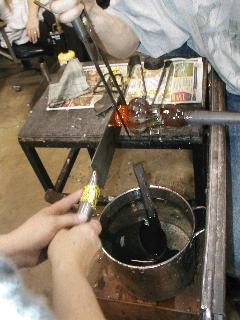 Glassblowing with Fused Cane 39