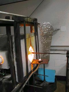 Glassblowing with Fused Cane 46