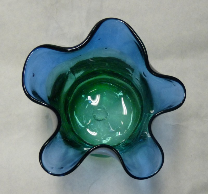 Glassblower.Info - Combo Glassblowing Mold - Beautiful Flower series - Top