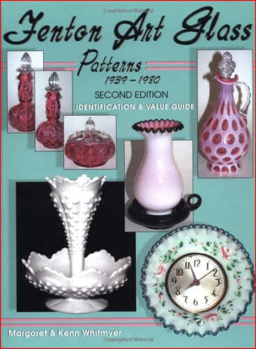 Glassblower.Info Amazon book Fenton Art Glass Patterns 1939-1980: Identification & Value Guide by Margaret Whitmyer, Kenn Whitmyer ISBN 1574323849