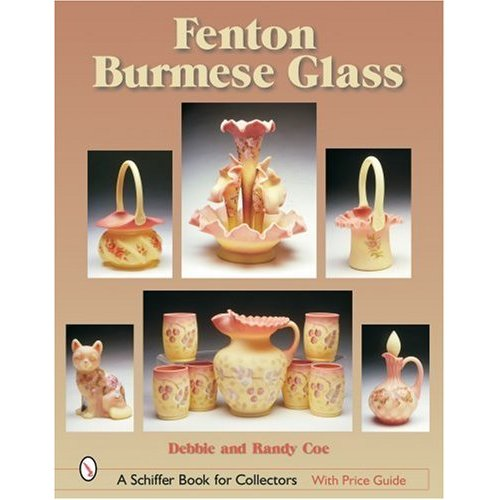 Glassblower.Info Amazon book Fenton Burmese Glass by Debbie Coe, Randy Coe ISBN 076431968X