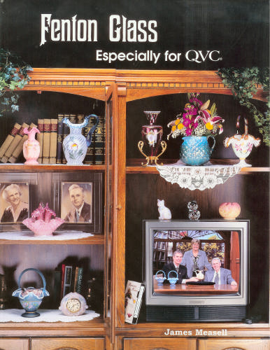 Glassblower.Info Amazon book Fenton Glass Especially for QVC by  ISBN 0972283609