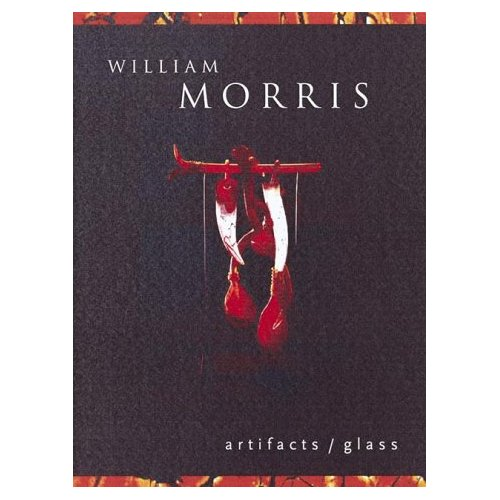 Glassblower.Info Amazon book William Morris: Artifacts/Glass by Gary Blonston, William Morris ISBN 0789201674