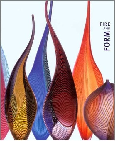 Glassblower.Info Amazon book Fire and Form: The Art of Contemporary Glass by William Warmus ISBN 0943411394