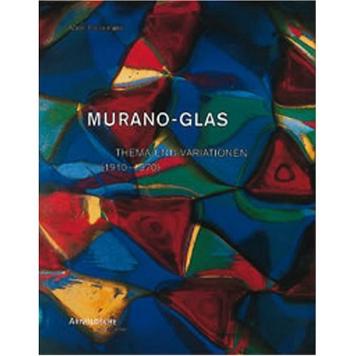 Glassblower.Info Amazon book Murano Glass (1910-1970) Theme and Variations by Marc Heiremans ISBN 3897901633