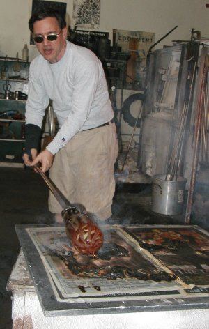 Glassblower.Info Glassblowing Paper Marver