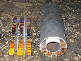 Mark Hall - Hallmark Art Glass - Kiln-formed Cylinders to Blow Out - Photo #2