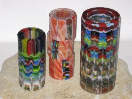 Mark Hall - Hallmark Art Glass - Kiln-formed Cylinders to Blow Out - Photo #4